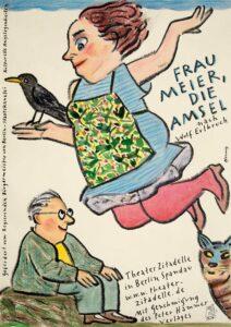 Frau Meier, die Amsel - Plakat