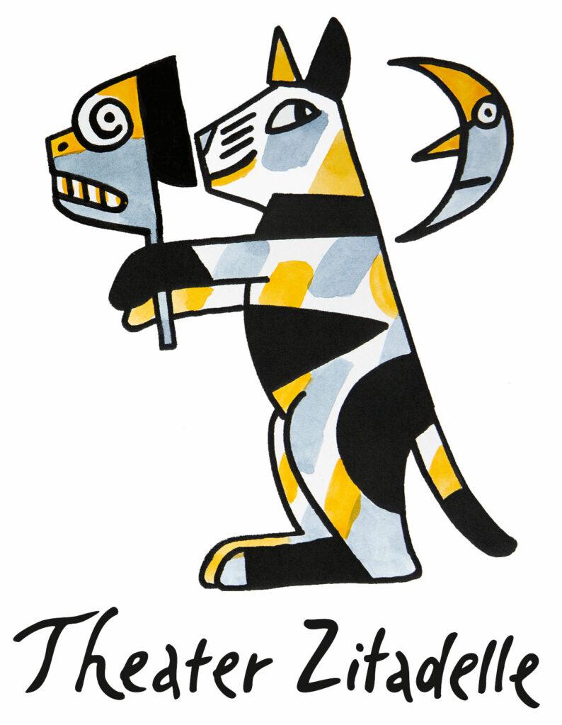 Logo Theater Zitadelle mit Schriftzug