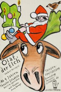 Olaf der Elch - Plakat