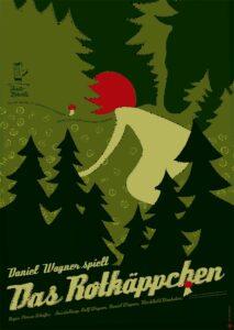 Das Rotkäppchen - Plakat