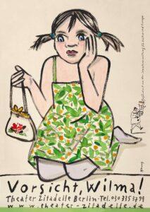Vorsicht, Wilma! - Plakat
