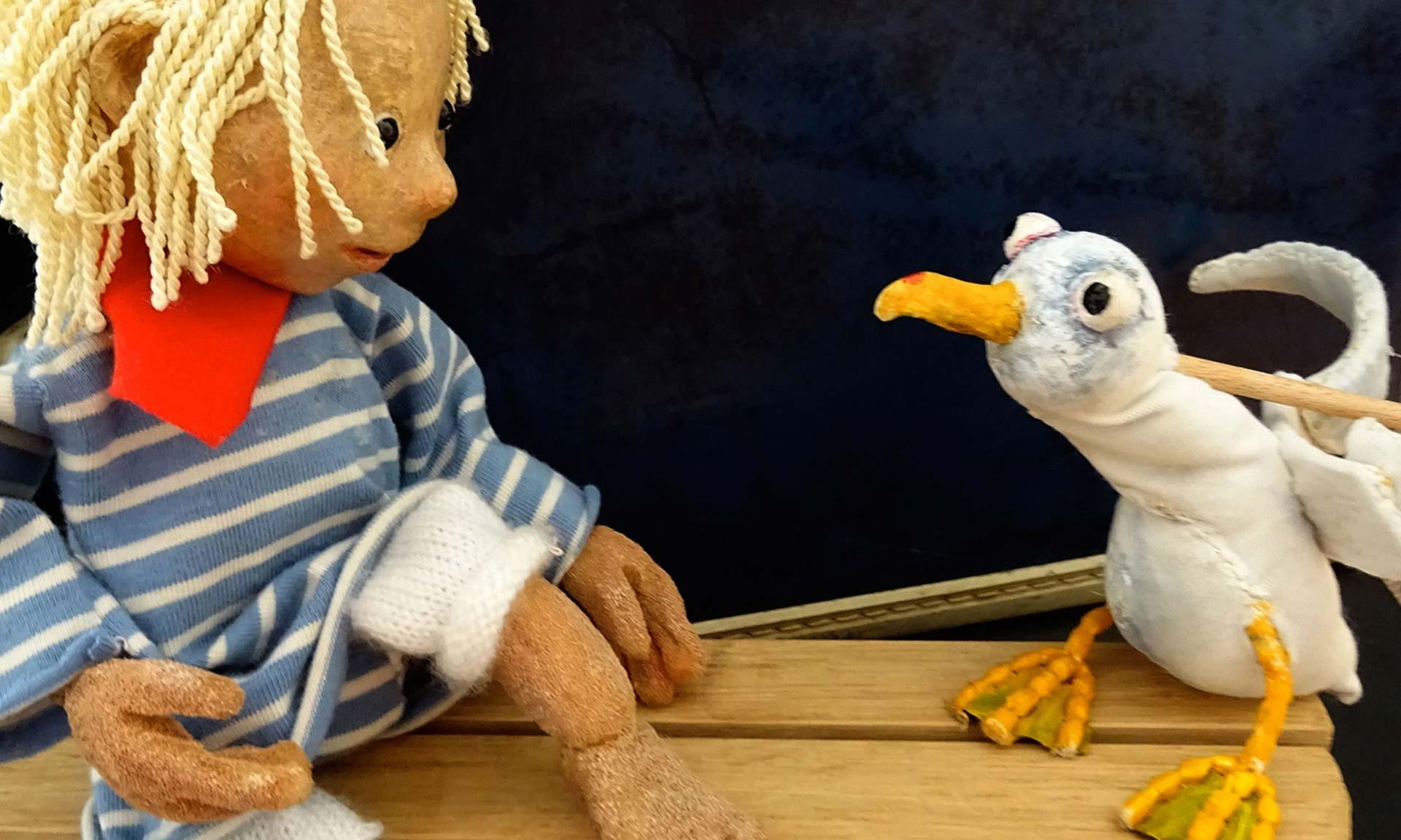 Frieda und die freche Möwe